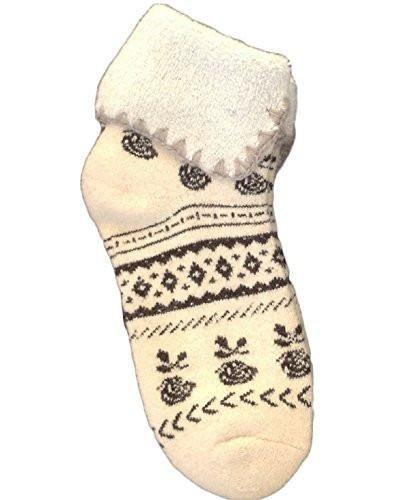 Lovely Annie Girls' Women's 2 Pairs Angora lambs Wool Thick Socks Classical