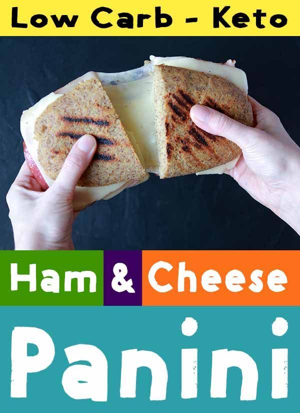 This recipe for Low Carb and Keto Ham and Cheese Panini is a tasty Italian cooked sandwich. It's ...