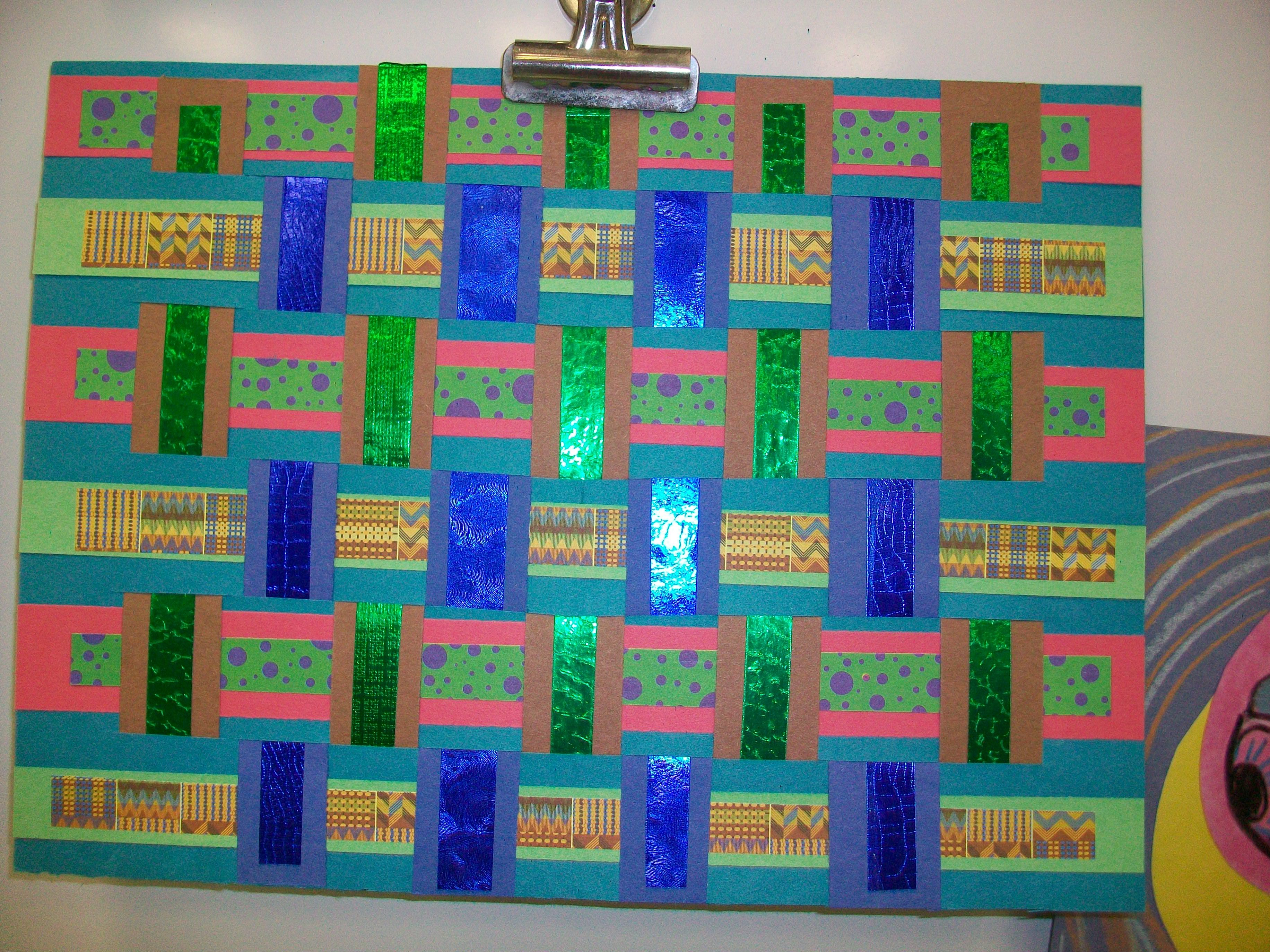 African weavings explorers lesson 6th grade social