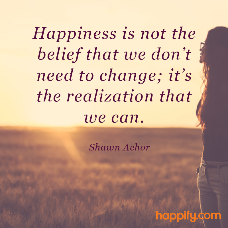 success comes this realization shawn achor happy quotes