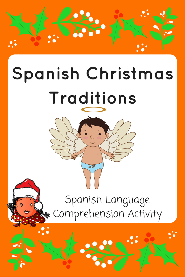 Spanish Christmas Traditions Comprehension Activity