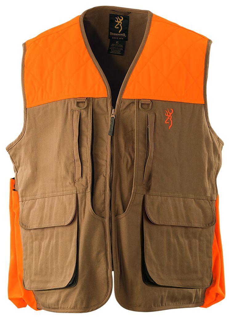 Browning Upland Canvas Vest for Men Canvas vest, Hunting