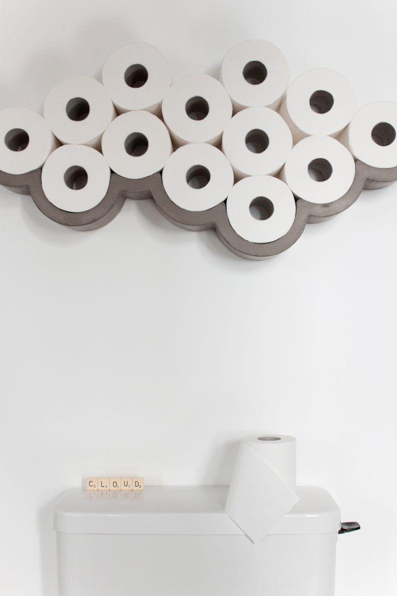 Mobilier Et Objets Deco En Beton Par Lyon Beton Deco Toilettes Deco Wc Papier Toilette