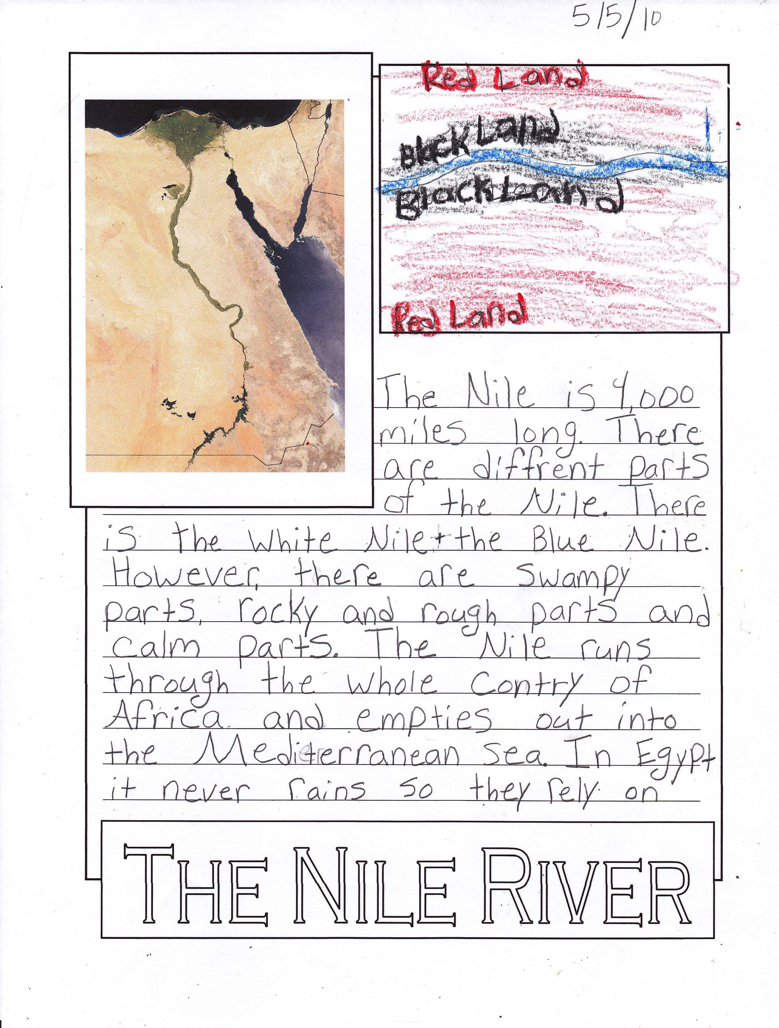 Homeschool Notebooking Nile River Love Thi Idea Montessori Geography Planning A Geographical History Of Africa Paraphrase