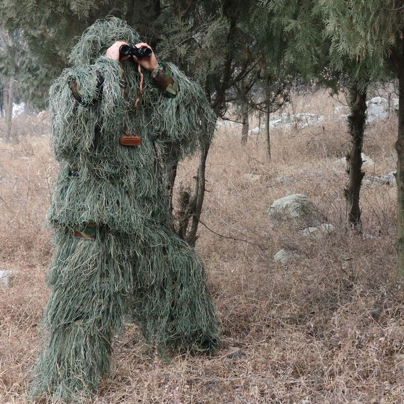 ARMY Tactical Camo Desert Cover For Camo Desert Ghillie Sniper Paintball hunting