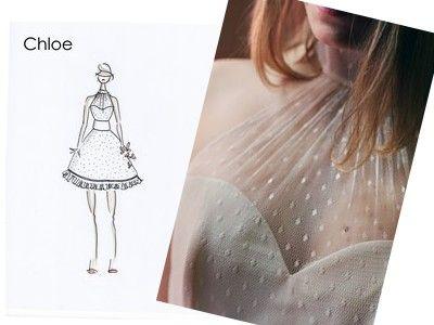 Vous l'avez sûrement déjà croisée au détour d'un blog, Violette la magnifique crée des robes sur mesure et personnalisables à l'infini pour de futures mari