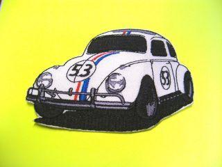 Herbie The Love Bug Race Car 5x7 Iron on transfer