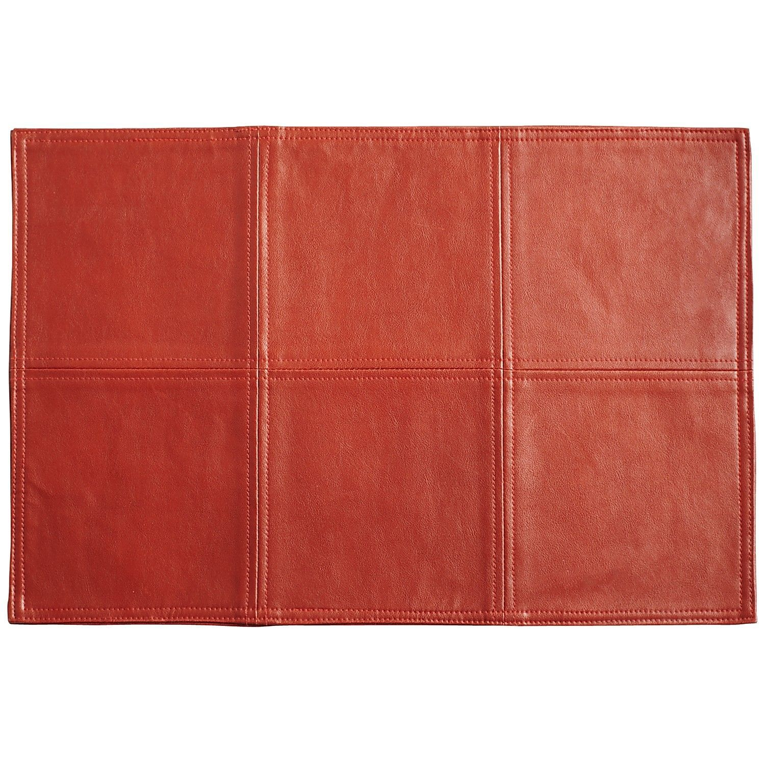 Pier 1 Faux Leather Placemat Red 2 68 Faux Leather Leather Pier