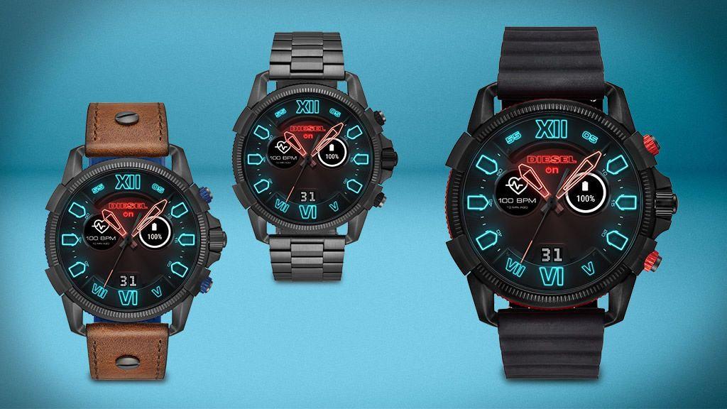 Diesel Full Guard 2 5 智能手錶巨型錶身1 39 吋錶面屏幕 香港unwire Hk Watches Casio Watch Smart Watch