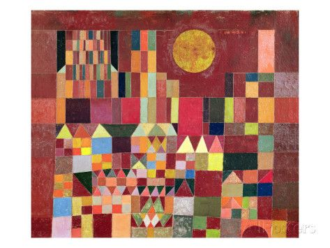 Castle and Sun, 1928 Giclee Print by Paul Klee at AllPosters.com