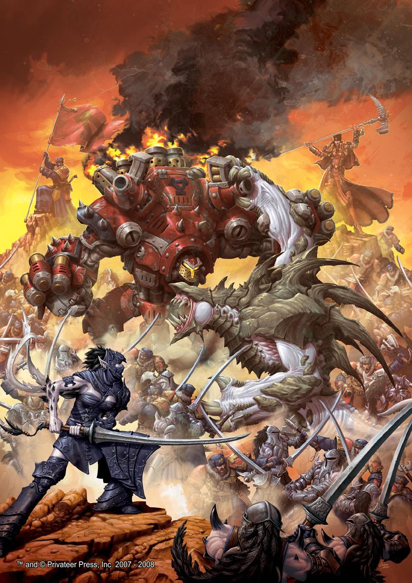 Vomkrieg Warmachine vs Hordes A NOOBs guide to
