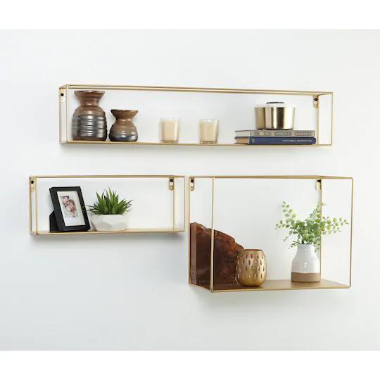 Gold Floating Shelf By Studio Decor Floating Shelves Diy