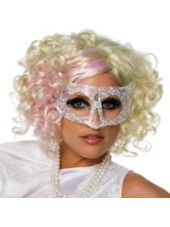 #partycity #halloween Curly Lady Gaga Wig-Party City