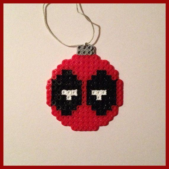 Deadpool Mario Mashup Perler Beads By Pixelartist3 0 Bugelperlen
