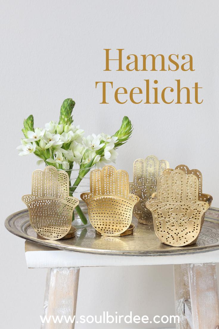 Deko Onlineshop Für Marokkanische Accessoires Goldener Hamsa