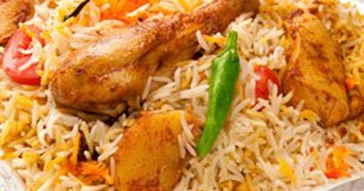طريقة عمل البرياني الهندية بالدجاج بالصور من صوت الحنين Recipe Biryani Recipe Biryani Veg Biryani