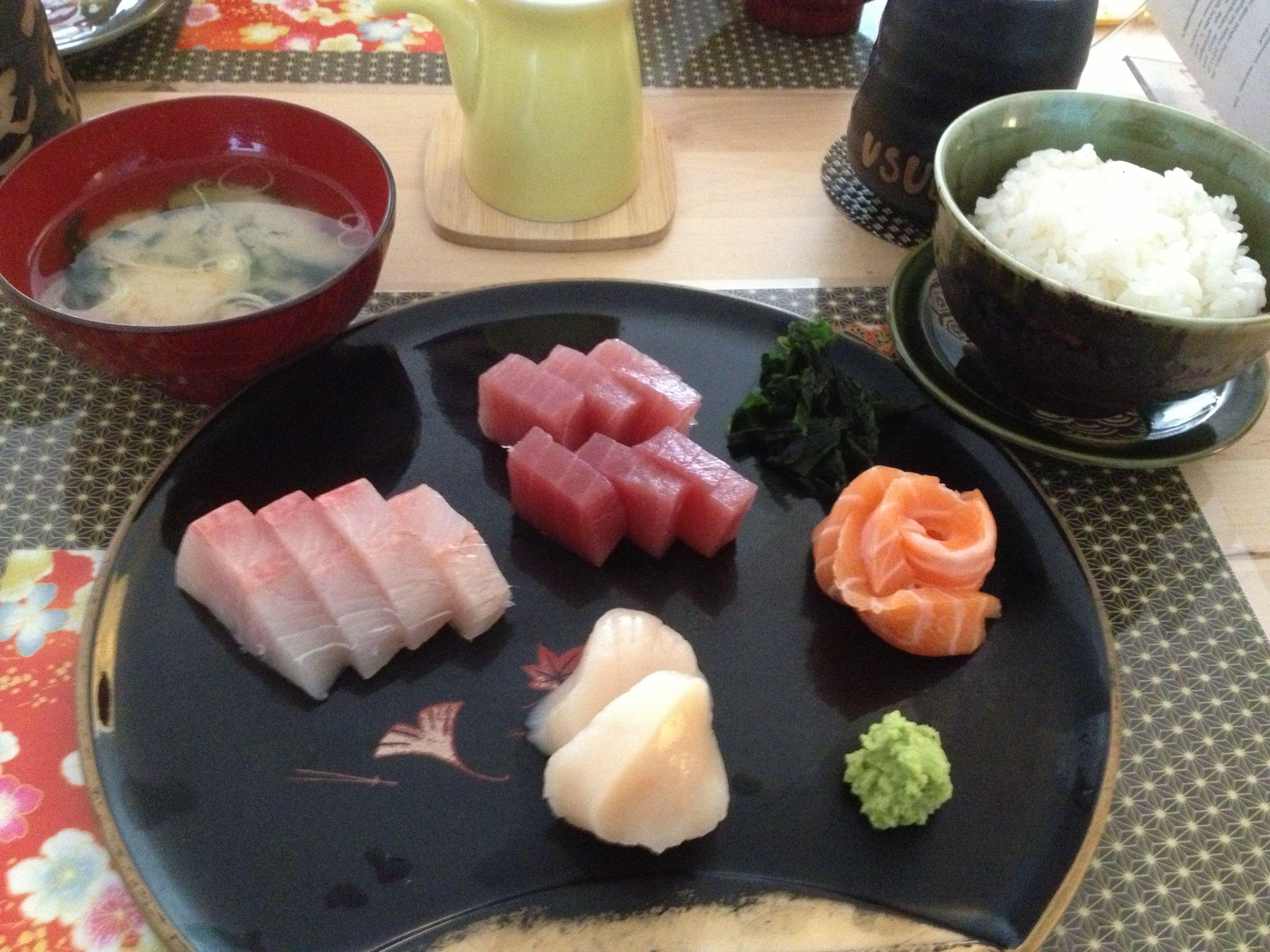 Sashimi at Usudaya Sushi