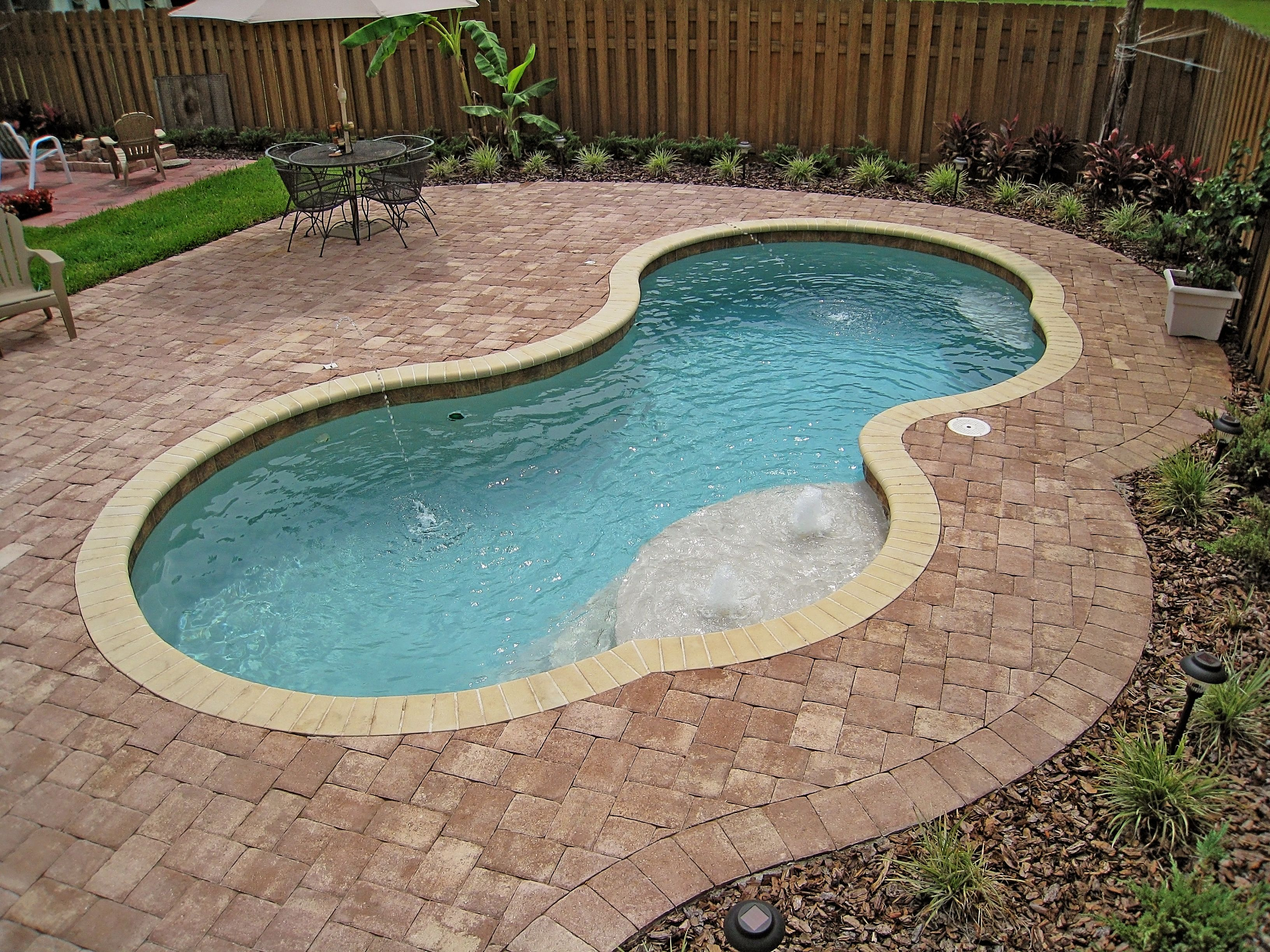 Chattanooga Fiberglass Pool - Picasso   Fiberglass Pools ...