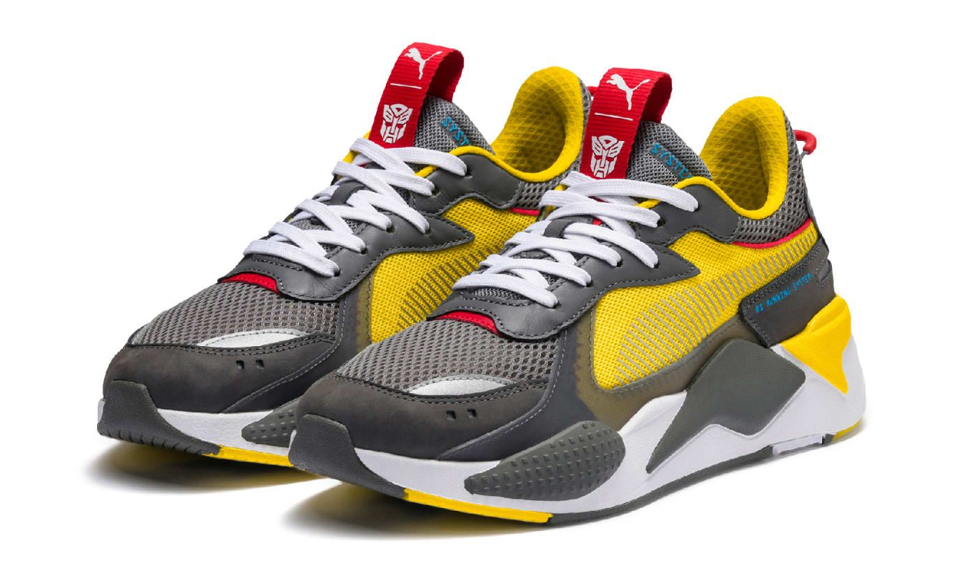 0aa61792ee8a Hasbro x Puma RS-X 'Transformers' Release Date | Sole Collector ...