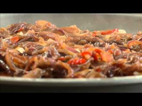 Episódio 64 Presunto 4:5 Pizza com cebola caramelizada, Presunto e mozzarela - YouTube