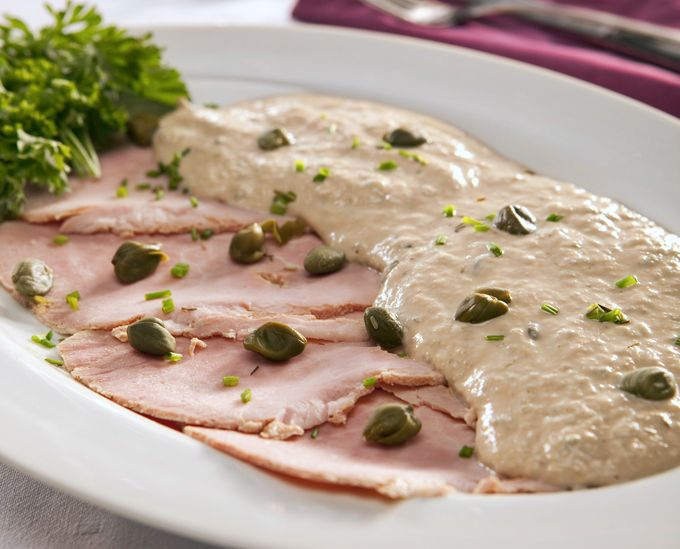 Vitello tonnato is a popular Italian dish that we don't often see in Italian-American restaurants. Traditionally, it is a dish of cold, thinly sliced veal served with a mayonnaise-based sauce flavored with tuna fish, anchovies and capers. The origins of vitello tonnato are vague, but it is primarily considered to be a Northern Italian dish popular...Read More » #mam58