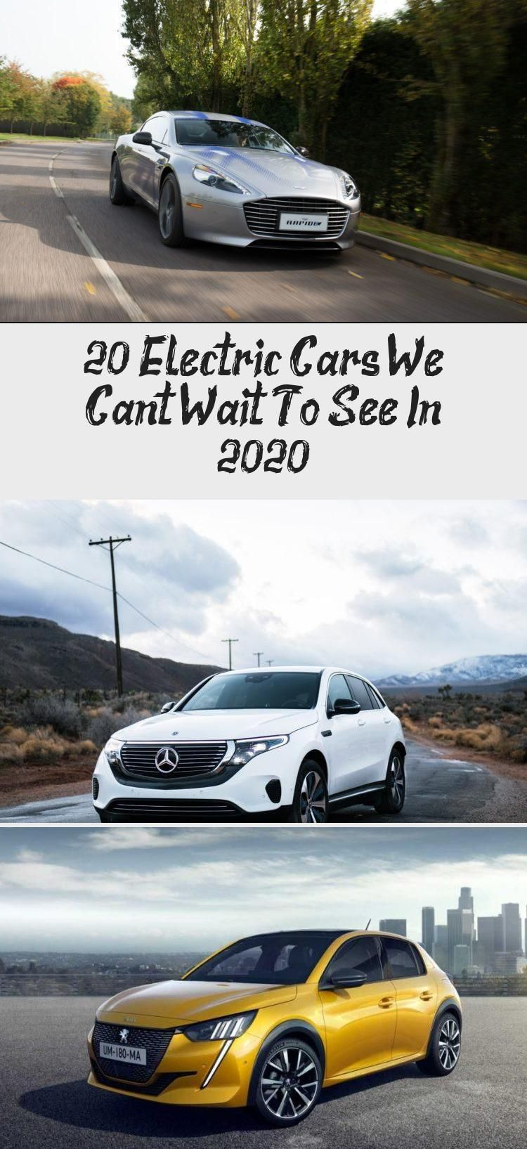 20 Electric Cars We Can't Wait To See In 2020 Electric