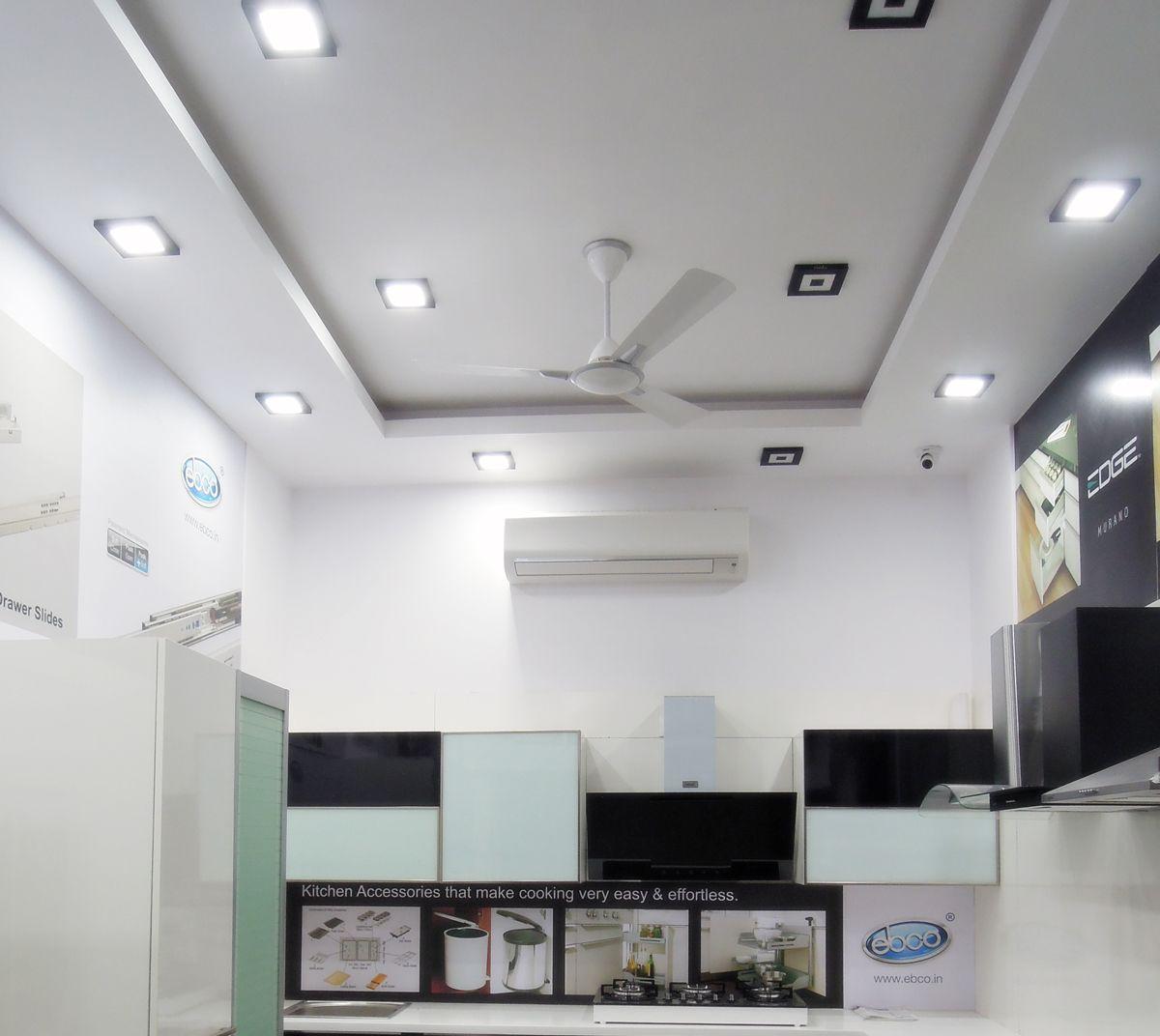 8w Led Recessed Light For False Ceiling