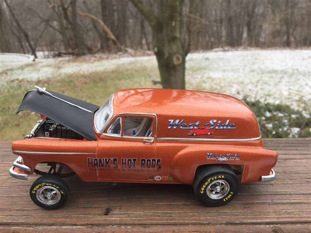 1953 Chevy Panel Gasser - Scale Auto Magazine - For building plastic ...