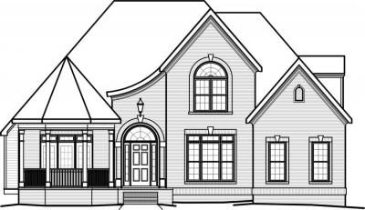 Home Plan Front View House Plans Unique House Plans Plan Front