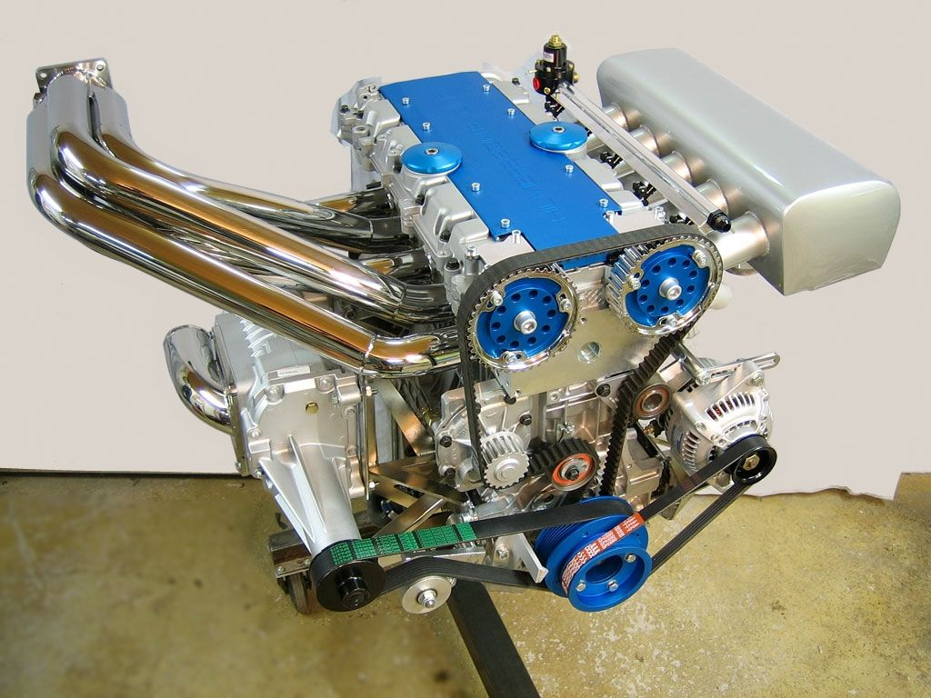 Volvo White Block For Marine Application Eaton Supercharged Built
