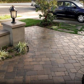 We Used Belgard Pavers Dublin Cobble Bella Color 4 Piece Combo