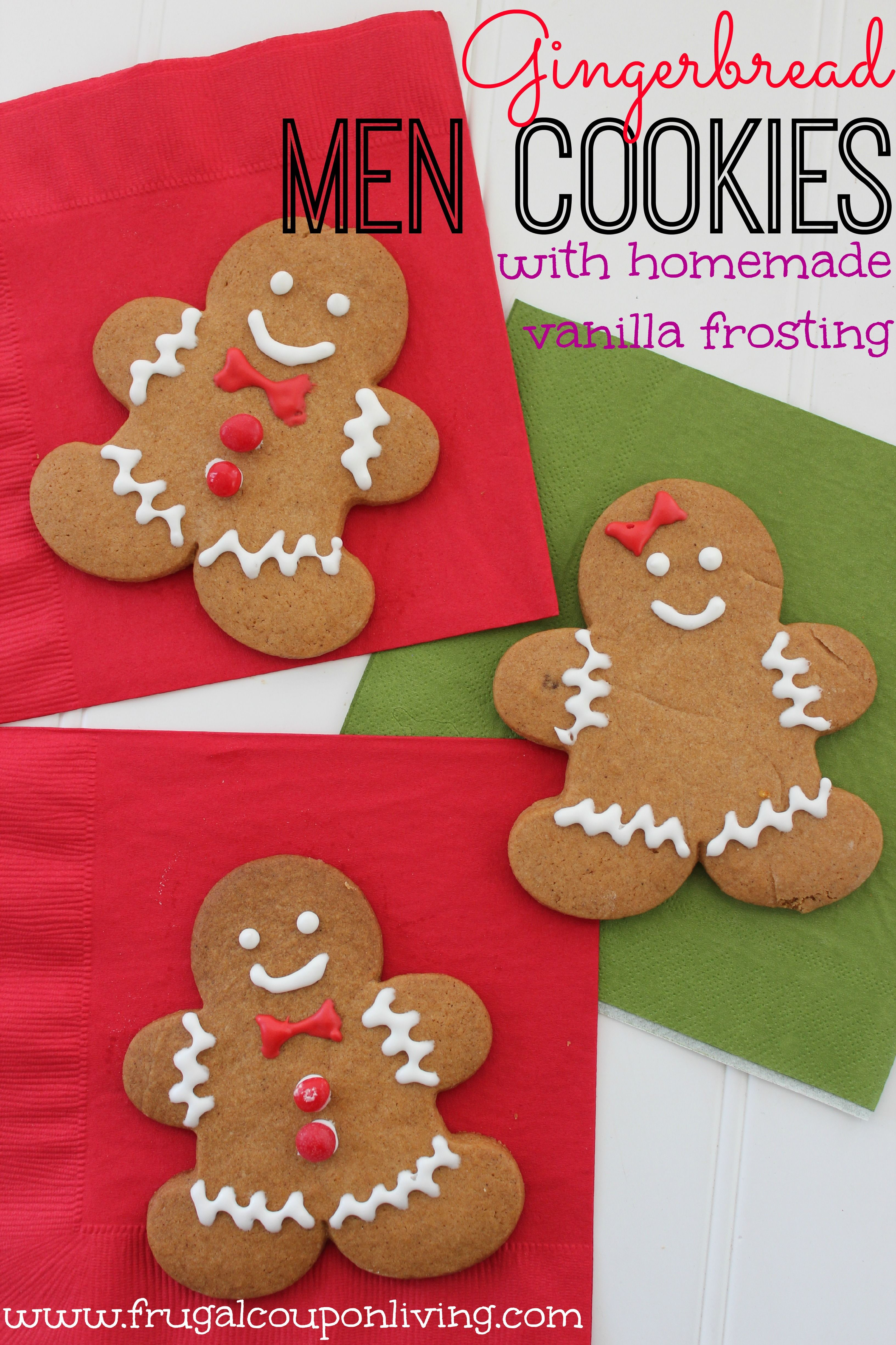 Gingerbread Men Cookies Recipe Food Craft For The Kids Christmas