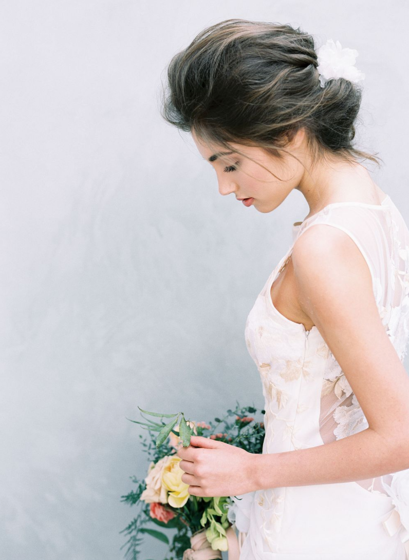 Fine Art Bride Hair and Makeup | Cucumber & Mint | Wedding Sparrow ...