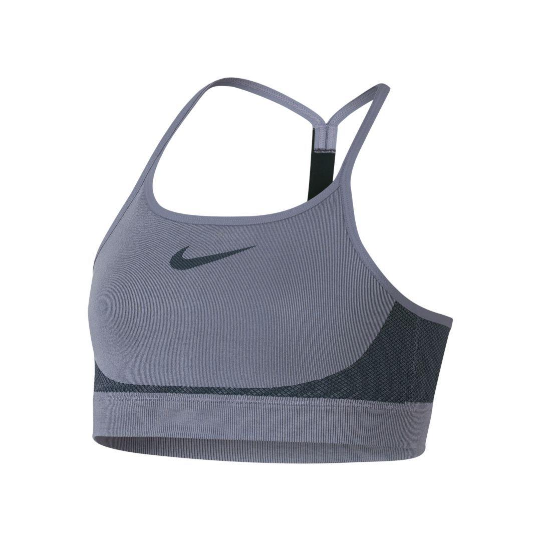 ed16c476e Nike Seamless Big Kids  (Girls ) Sports Bra Size M (Ashen Slate)