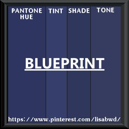 Pantone seasonal color swatch blueprint color thesaurus color dark malvernweather