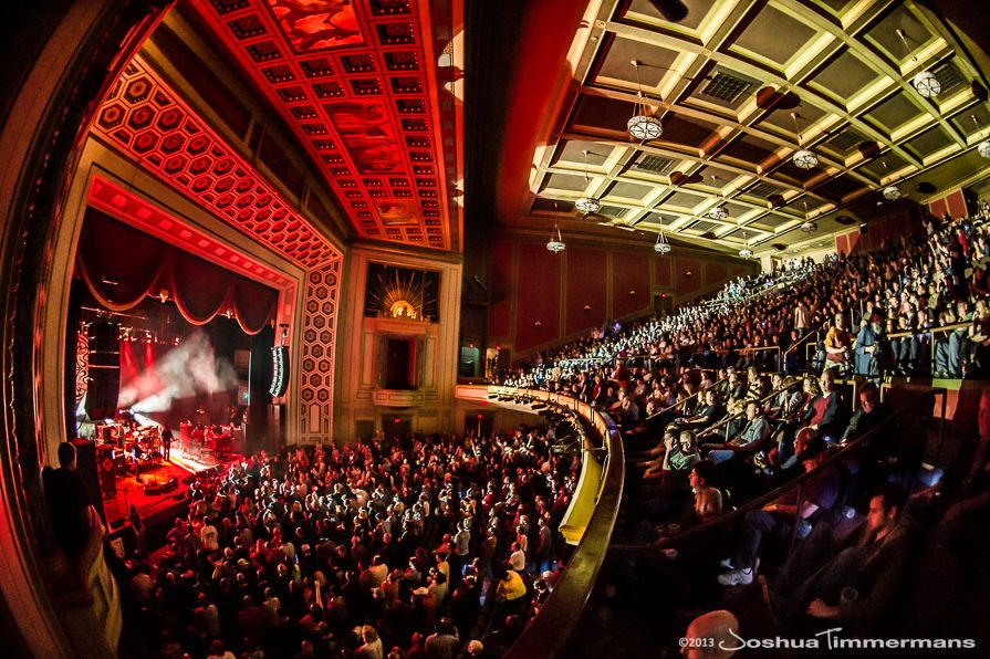 An amazing shot of the theatre taken April 27, 2013 by Josh Timmermans