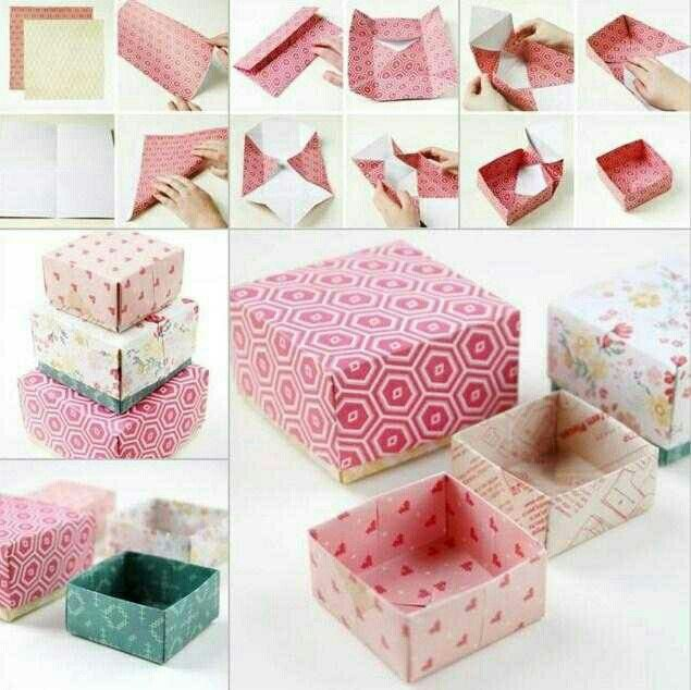 Pin by kirsten schellekens on knutselen pinterest how to tutorial for origami styled gift boxes diy diy crafts do it yourself diy projects origami gift box solutioingenieria Images