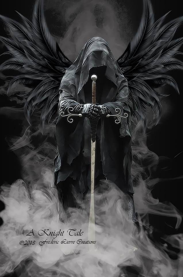L Ange De La Mort Ce Messager Des Dieux Archange Pinterest