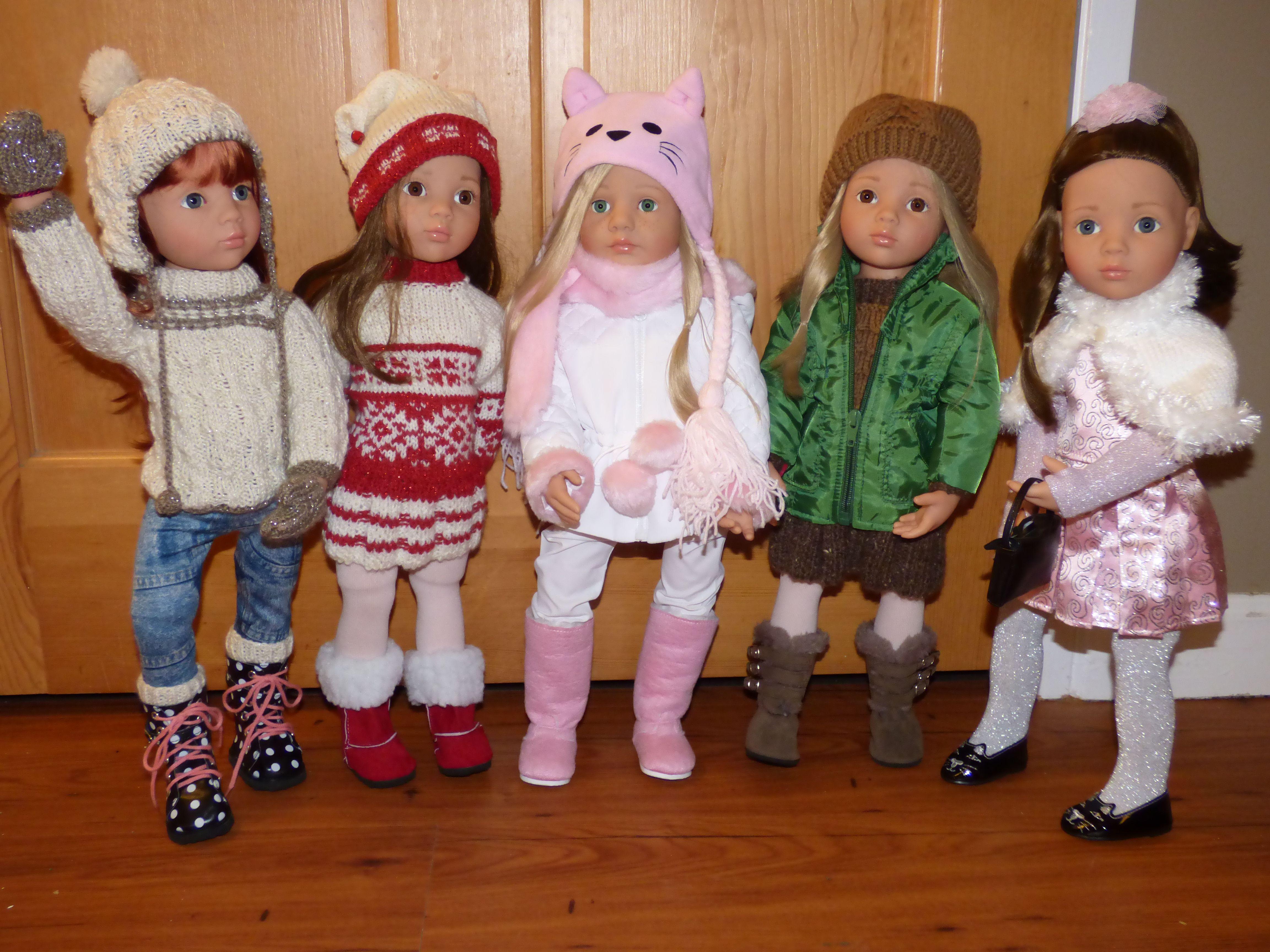 Gotz Happy Kidz dolls