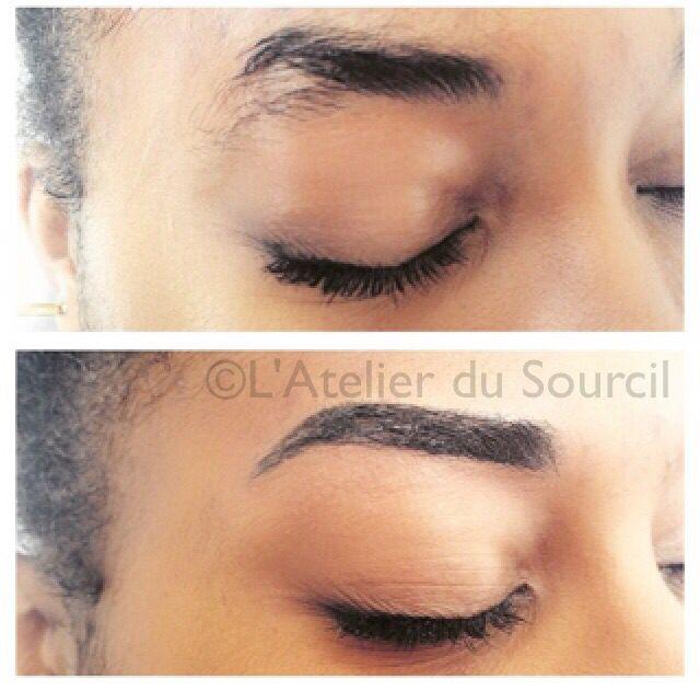 pigmentation naturelle des sourcils par l 39 atelier du 11e paris maquillage semi permanent. Black Bedroom Furniture Sets. Home Design Ideas