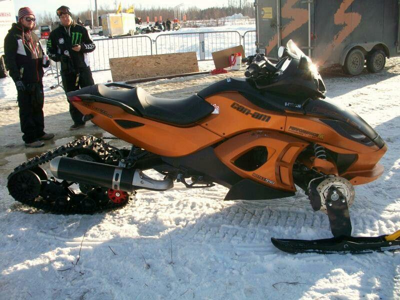 Custom Can Am Spyder Snow Kit