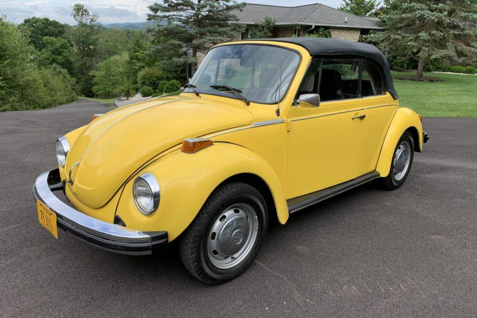 1976 Volkswagen Beetle Convertible in 2020 Beetle