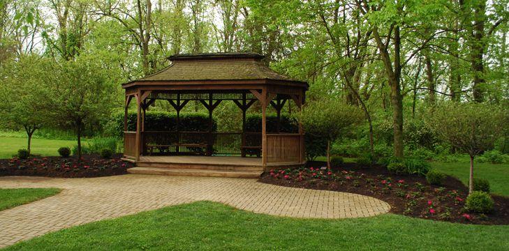 Pattison Lodge And Gazebo For A Potential Reception Venue Clermont Co Cincinnati Outdoor Wedding