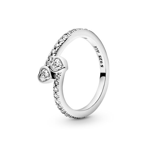 pandora anello due cuori