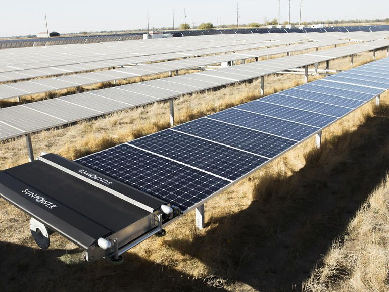 Drones And Robots Make Solar Panels More Efficient Zdnet Solar Panels Solar Energy Diy Solar