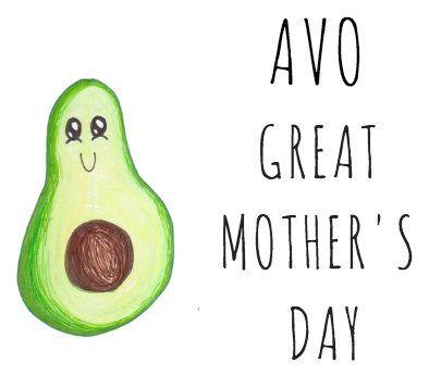 Happy Birthday Card Avocado Pun Great Birthday Birthday Pun