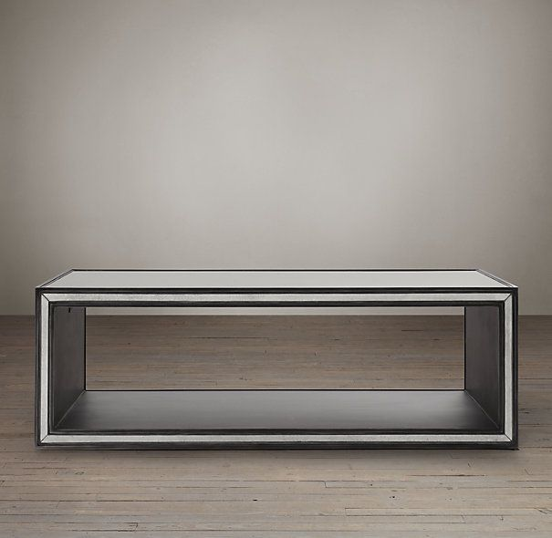 Strand Mirrored Coffee Table Coffee Table Restoration Hardware
