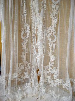 epingle sur lace voile curtains