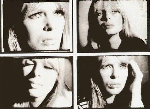 """theswinginsixties:  Nico by Andy Warhol  """