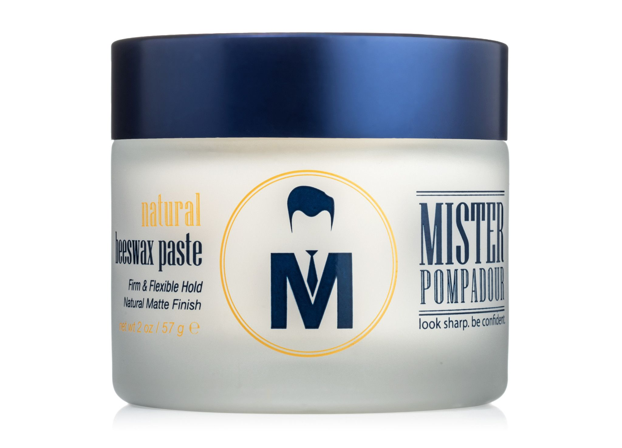 Men's Hair Styling Cream Natural Beeswax Paste From Mister Pompadour  Things To Wear